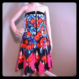 Very colorful Peter Pilotto dress